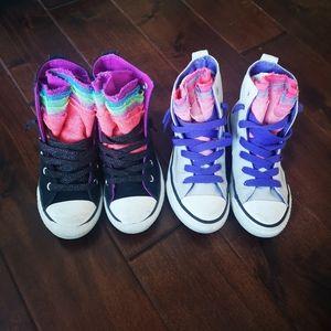 Girls Converse Sneakers High Top